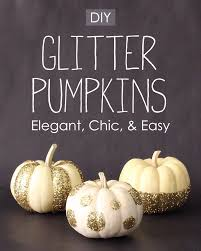 Gold Pumpkin Carriage Centerpiece by Best 25 Glitter Pumpkins Ideas On Pinterest Glitter Fall Decor