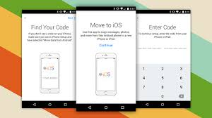 This is all with these simple steps can spend all you have on your Android to an iPhone start using it quickly with little plications move to ios app