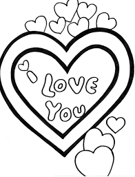 Best I Love You Coloring Pages 72 For Free Colouring With
