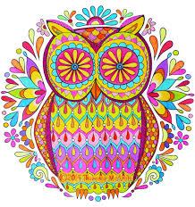 Nature Mandalas Owl By Thaneeya