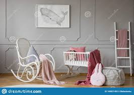 Pink Blanket On Rocking Chair Next To Cradle In Grey Kid`s ... Nursery Fniture Essentials For Your Baby And Where To Buy On Pink Rocking Chair Stock Photo Image Of Adorable Incredible Rocking Chairs For Sale Modern Design Models Awesome Antique Upholstered Chair 5 Tips Choosing A Breastfeeding Amazoncom Relax The Mackenzie Microfiber Plush Personalized Toddler Personalised Fun Wooden Tables Light Pink Pillow Blue Desk Png Download 141068 Free Transparent Automatic Baby Cradle Electric Ielligent Swing Bed Bassinet Archives Childrens Little Seeds Us 1702 47 Offnursery Room Abs Plastic Doll Cradle Crib 9 12inch Reborn Mellchan Accessoryin Dolls