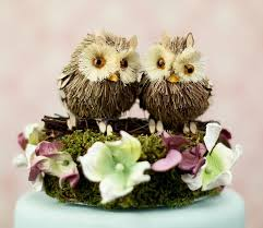 Ill Look Out For You Owl Wedding Cake Topper