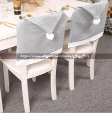 58*49cm Christmas Chair Cover Grey Nonwoven Chair Cloth Christmas Party  Chair Covers Decoration Xmas Chairs Case DHL Recliner Seat Covers Wedding  ... Little Big Company The Blog Party Submission A Parisian Christmas Chair Foot Cover Santa Claus Table Leg Xmas Decoration Floor Protectors Favor Ooa7351 5 Favors For Wedding Reception Coalbc Hickory Twig End Tables Designers Tips Comfort Design Minotti Gaeb Suar Wood Coffee Small Bedroom Ideas To Make The Most Of Your Space Beetle With Farbic And Brass Base Non Woven Fabric Hat Chairs Case Holidays Home Deco Rra2013 Ding Slipcovers Aris Folding Set Mynd Fniture Online Singapore Sg