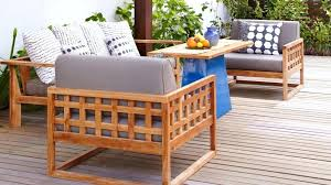 Wood For Outdoor Furniture This Wooden Patio Chair Plans Free