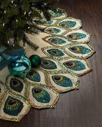 Hobby Lobby Burlap Christmas Tree Skirt by Best 25 Peacock Christmas Ideas On Pinterest Peacock Christmas