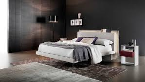 Libriamo Modern Italian Platform Bed by Rossetto
