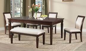 Harwich Dining Set With Upholstered Bench