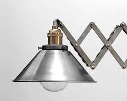 adjustable articulating wall mount light swing sconce with