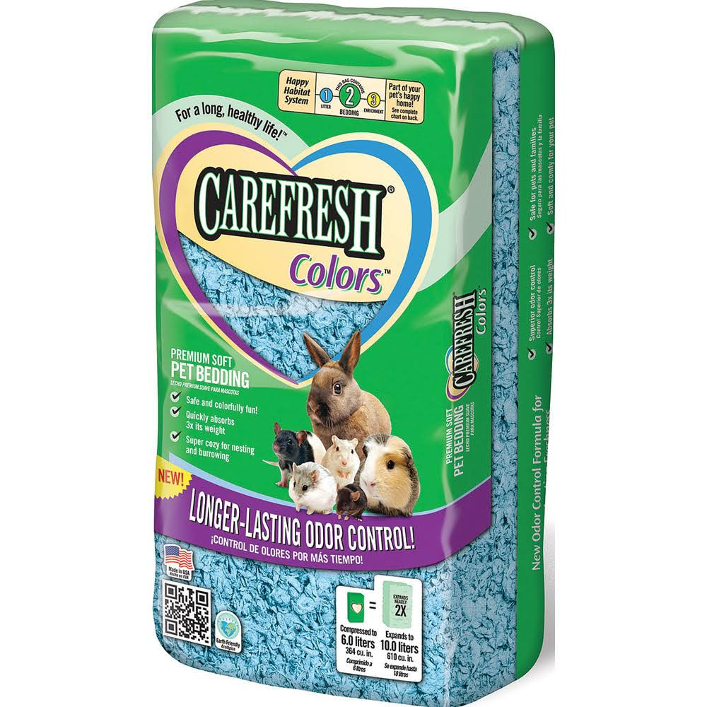 Healthy Pet Carefresh Complete Pet Bedding - Blue, 10L