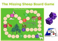 4th Grade Missing Sheep Board Game For Kids Printable Ideas