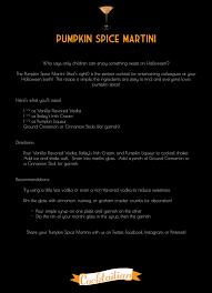 Kahlua Pumpkin Spice Martini by Recipes