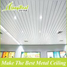 china 2018 waterproof aluminum suspended ceiling tiles china