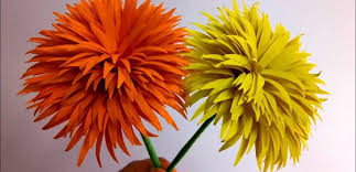 How To Make Dandelion Paper Flowers