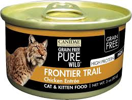 high protein cat food canidae grain free frontier trail with chicken canned