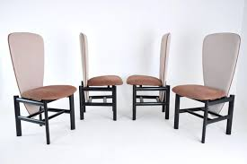 Set Of 4 Dutch High Back Mid-century Oak Dining Chairs ... Indoor Chairs Slope Leather Ding Chair Room Midcentury Cane Back Set Of 6 Modern High Mid Century Walnut Accent Wingback Curved Arm Nailhead W Wood Leg Project Reveal Oklahoma City High End Upholstered Ding Chairs Ameranhydraulicsco 1950s Metalcraft 2 Available Listing Per 1 Chair Floral Vinyl Covered With Brown Steel Frames Design Institute America A Pair Midcentury Fniture Basix Kitchen Best For Home