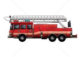 100 Fire Trucks Unlimited Truck Vector Image 1808849 Stock