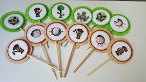 Terraria Chair And Table by Terraria Cupcake Toppers 18 Cupcake Toppers 18 Thanks