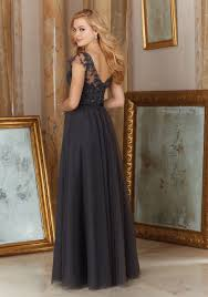 morilee tulle with embroidery bridesmaid dress style 154 morilee