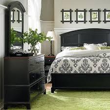 Gray Bedroom Black Furniture Photo