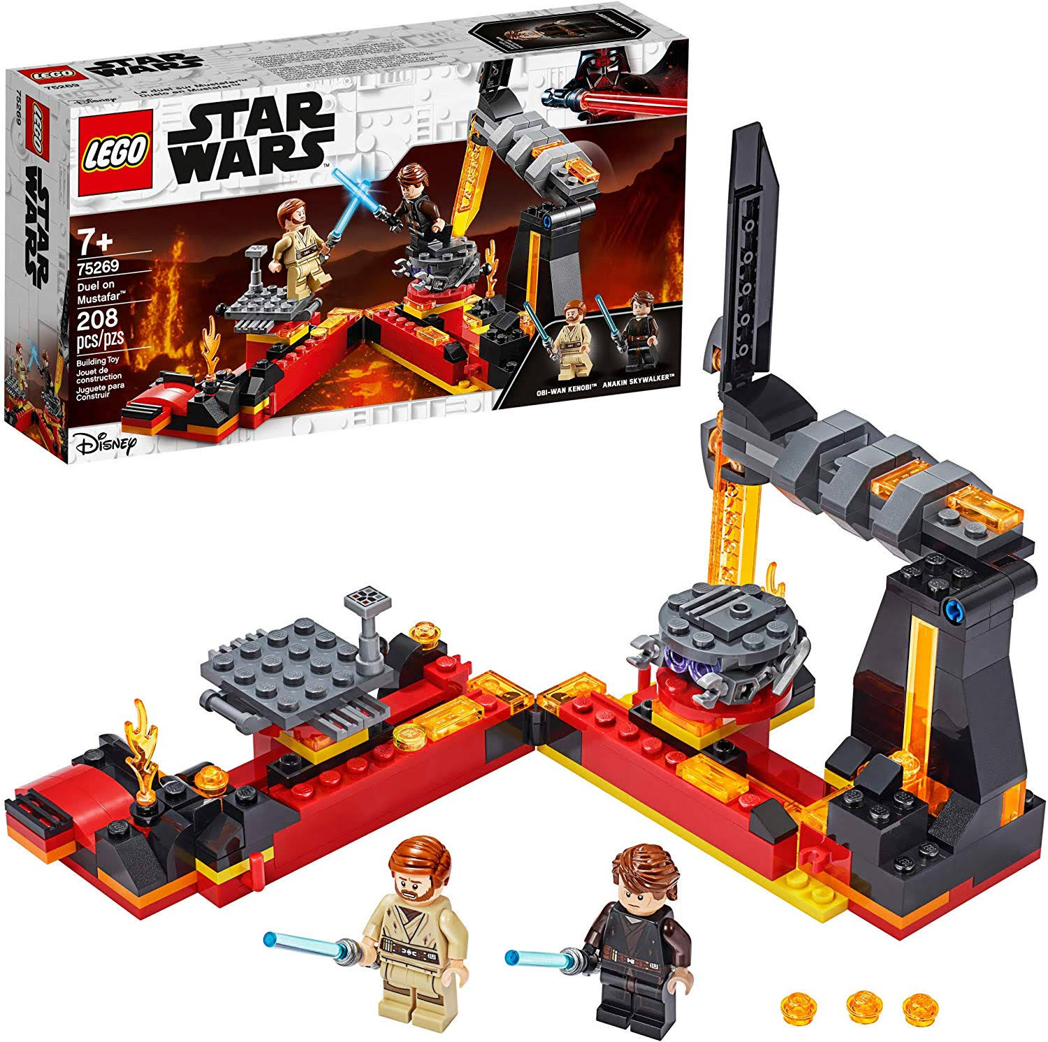 Lego Star Wars - Duel on Mustafar 75269
