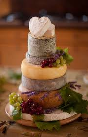 A Savoury Treat Cheese Tower Wedding Cakes