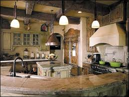 Image Of Rustic Tuscan Themed Kitchen Decor