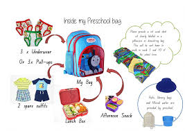 WHAT DO I NEED TO PACK FOR PRESCHOOL