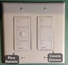 lutron p bdg pkg2w caseta wireless smart lighting in wall dimmer