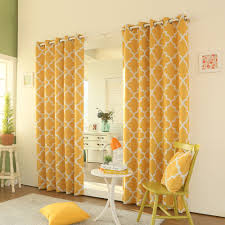 Brylane Home Grommet Curtains by Yellow Grommet Curtains Home Design Ideas And Pictures