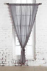 Plum And Bow Blackout Pom Pom Curtains by Na Bedroom Hang Curtains Pom Pom Trim Stylish And Bedrooms