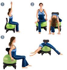Physio Ball Chair Base by Gaiam Balance Ball Chair 60 Interesting Gaiam Balance Ball Chair