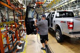 US Industrial Production Climbed 0.6 Percent In November Michigan Supplier Fire Idles 4000 At Ford Truck Plant In Dearborn Tops Resurgent Us Car Industry 2013 Sales Results Show The Could Reopen Two Plants Next Friday F150 Chassis Go Through Assembly Fords Video Inside Resigned To See How The 2015 F Announces Plan To Cut Production Save Costs Photos And Ripping Up History Truck Doors For Allnew Await Takes Costly Gamble On Launch Of Its Pickup Toledo Blade Plant Vision Sustainable Manufacturing Restarts Production