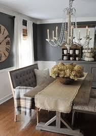 Settee Bench Dining Table 18 Ideas For Tables Decorcraze Farm House Dinning Room