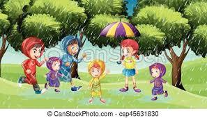 Park Clipart Rainy 23