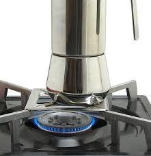 Ilsa Stainless Steel 9 Cup Stovetop Espresso Maker Home Garden Kitchen Dining Appliance Accessories Coffee Machine Pot Parts