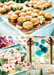 Food For Bridal Shower How To Organize A Beach Themed Finger Serve