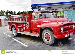 100 Ford Fire Truck Old V8 South Carolina Usa Editorial Stock Image
