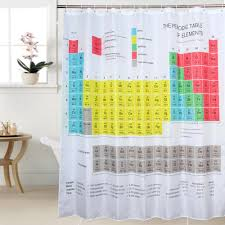 periodic table shower curtain 65 stunning decor with periodic