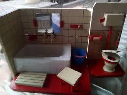 badezimmer für puppenstube ca 50er jahre antik ddr