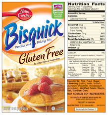 Pumpkin Pancakes With Gluten Free Bisquick by Bisquick Gluten Free Ingredients Check The Label Do You Really