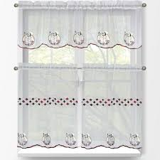 Walmart Kitchen Cafe Curtains by Kitchen Gorgeous Walmart Kitchen Curtains For Kitchen Decoration