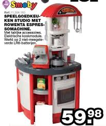 cuisine smoby studio maxi toys promotion speelgoedkeuken studio met rowenta