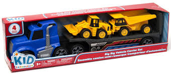 Kid Connection Big Rig Trailer Construction Toy Vehicle Set ... Prtex 60cm Detachable Carrier Truck Toy Car Transporter With Product Nr15213 143 Kenworth W900 Double Auto 79 Other Toys Melissa Doug Mickey Mouse Clubhouse Mega Racecar Aaa What Shop Costway Portable Container 8 Pcs Alloy Hot Mini Rc Race 124 Remote Control Semi Set Wooden Helicopters And Megatoybrand Dinosaurs Transport With Dinosaur Amazing Figt Kids 6 Cars Wvol For Boys Includes Cars Ar Transporters Toys Green Gtccrb1237