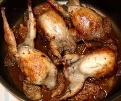 cuisiner des cailles en cocotte cailles aux morilles jpg