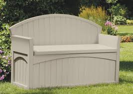 Suncast Outdoor Storage Cabinets With Doors by Suncast Resin Storage Bench U0026 Reviews Wayfair