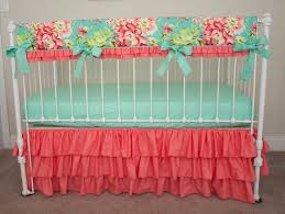 Teal And Coral Baby Bedding by Best 25 Rail Guard Ideas On Pinterest Crib Rail Guard Baby