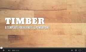 Timber Powerpoint Presentation Templates