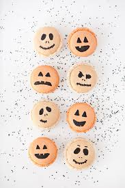 Halloween Potluck Signup Sheet by Tricks U0026 Treats Halloween Macarons U0026 Spooky Sprinkled Oreos