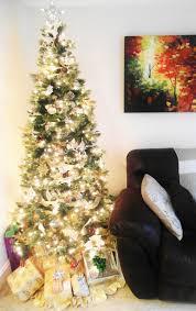 Kmart Christmas Tree Skirt by Beyond The Aisle Christmas Eve Mini Holiday Home Tour