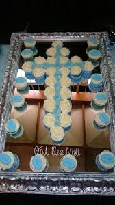 Pampered Chef Easy Accent Decorator Cupcakes by Confirmation Comunion Cupcake Cross Cake My Cakes U0026 Cupcakes